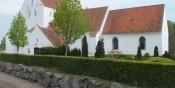 Øksendrup kirkes historie, og billeder.
